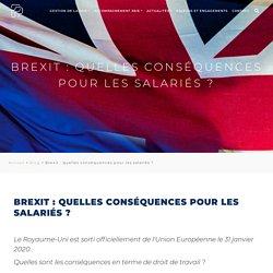 Brexit : quelles conséquences pour les salariés ?