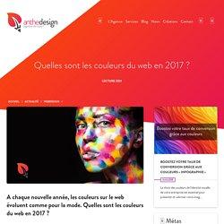 Quelles seront les couleurs du web en 2017 ?