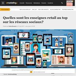 Quelles sont les enseignes retail au top sur les réseaux sociaux? - Social marketing