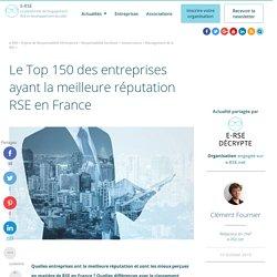 Quelles entreprises sont les plus réputées pour leur RSE en France ?