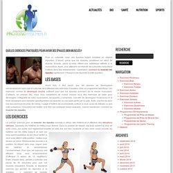 Quelles exercices pratiquées pour avoir des épaules bien musclés?