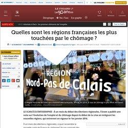 Quelles sont les régions françaises les plus touchées par le chômage ?