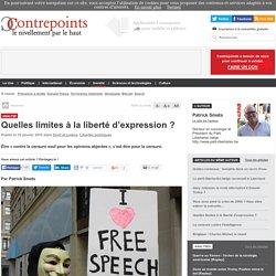 Quelles limites à la liberté d'expression