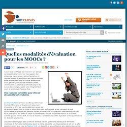 Quelles modalités d'évaluation pour les MOOCs ?