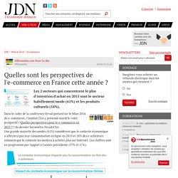 Quelles sont les perspectives de l'e-commerce en France cette année