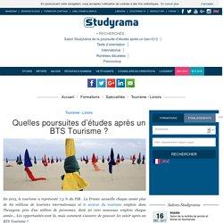 Quelles poursuites d'études après un BTS Tourisme?