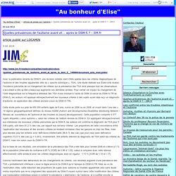 Quelles prévalences de l'autisme avant et... après le DSM-5 ? - JIM.fr