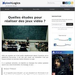Quelles études pour réaliser des jeux vidéo ? – SplashLogics