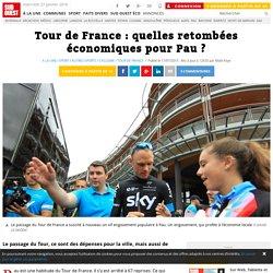 Tour de France : quelles retombées économiques pour Pau ?