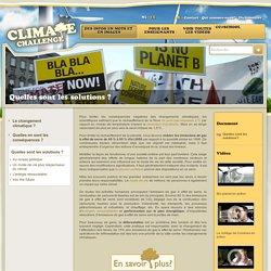 Quelles sont les solutions ? - ClimateChallenge