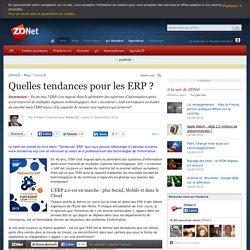 Quelles tendances pour les ERP ?