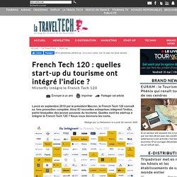 French Tech 120 : quelles start-up du tourisme ont intégré l'indice ?