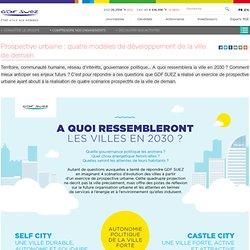 Quelles villes en 2030 ? - Infographie - GDF SUEZ