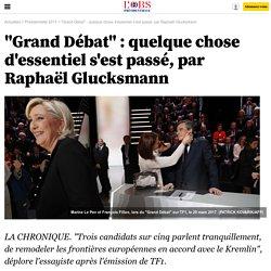 """""""Grand Débat"""" : quelque chose d'essentiel s'est passé, par Raphaël Glucksmann"""