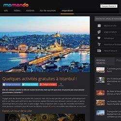 Quelques activités gratuites à Istanbul ! – momondo