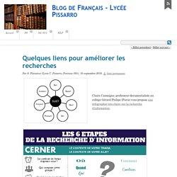 Quelques liens pour améliorer les recherches - Blog de Français - Lycée Pissarro