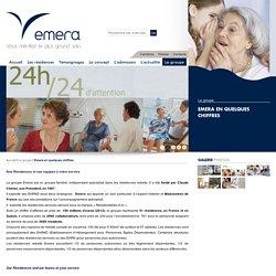 Quelques Chiffres des maisons de retraite Emera