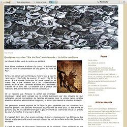 """Quelques-uns des """"Six de Pau"""" condamnés : La lutte continue - Le Jura Libertaire"""