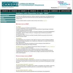 Quelques outils disponibles en ligne - ENAF - Canopé - académie d'Aix-Marseille