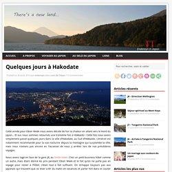 Quelques jours à Hakodate
