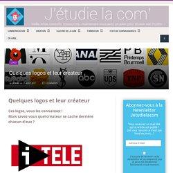 Quelques logos et leur créateur - J'étudie la com'