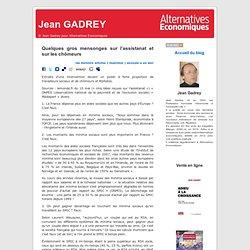 Jean GADREY » Blog Archive » Quelques gros mensonges sur l'assistanat et sur les chômeurs