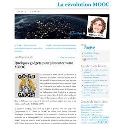 Quelques gadgets pour pimenter votre MOOC