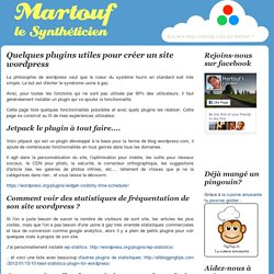 quelques-plugins-utiles-pour-creer-un-site-wordpress