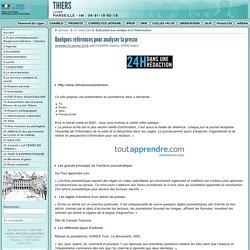 Quelques références pour analyser la presse - Lycée Thiers à Marseille