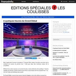 Editions Spéciales : Les Coulisses