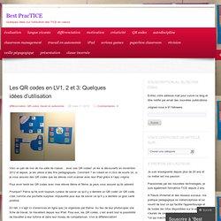 Les QR codes en LV1, 2 et 3: Quelques idées d'utilisation