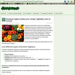 Quelques règles simples pour manger végétalien sans se tromper » Conscience Durable