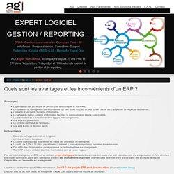 Quels sont les avantages et les inconvénients d'un ERP ? - AGI - Paris.fr