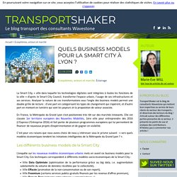 Quels business models pour la smart city à Lyon ?