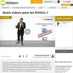 Quels enjeux pour les MOOCs ?