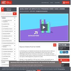 Quels sont les impacts du streaming vidéo ? avec l'ADEME