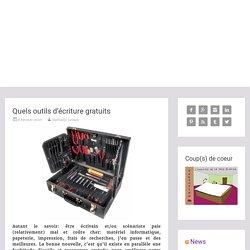 Quels outils d'écriture gratuits