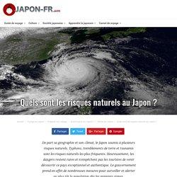 Quels sont les risques naturels au Japon?
