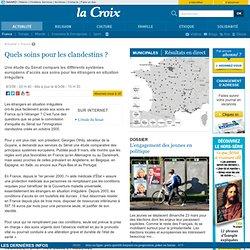 Quels soins pour les clandestins ? - France - la-Croix.com