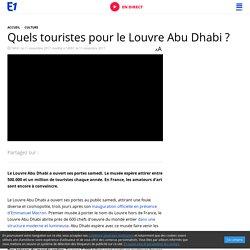 Quels touristes pour le Louvre Abu Dhabi ?