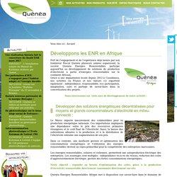 Quénéa Énergies Renouvelables - Quénéa Énergies Renouvelables