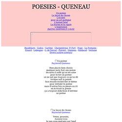 Texte de poésies