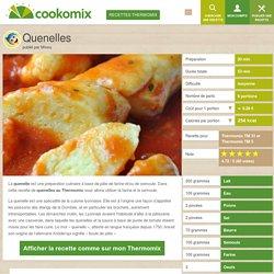 Quenelles au Thermomix - Cookomix