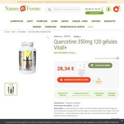 Quercetine 350mg 120 gélules Vitall+ - Achat VIT'ALL +