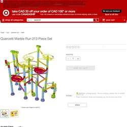 Quercetti Marble Run 213 Piece Set