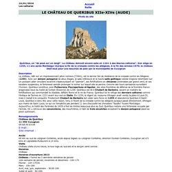 Quéribus, forteresse cathare
