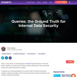 Protecting Sensitive Data Through Query Inspection