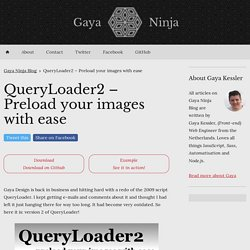 QueryLoader2 – Preload your images with ease