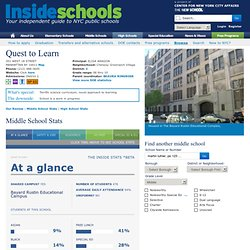Quest to Learn - insideschools.org