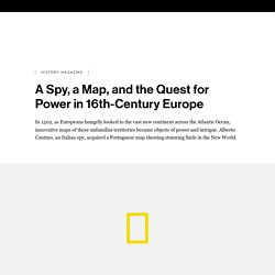 A Spy, a Map, and the Quest for Power in 16th-Century Europe